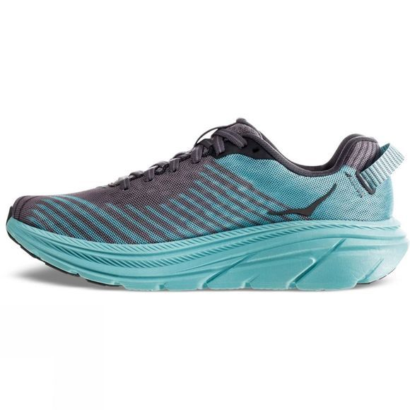Hoka One One Womens Rincon Charcoal Gray / Aqua Sky