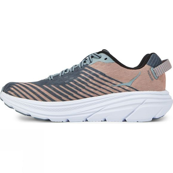 Hoka One One Womens Rincon shoe Lead / Pink Sand