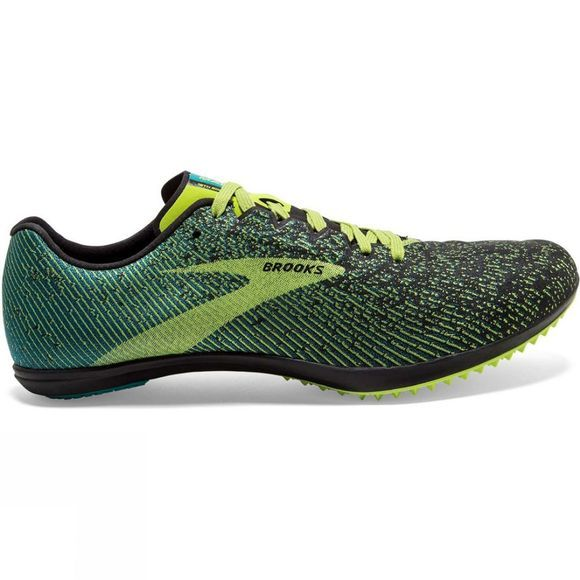 Brooks Men's Mach 19 Spikeless Black/Shoots/Blue Grass