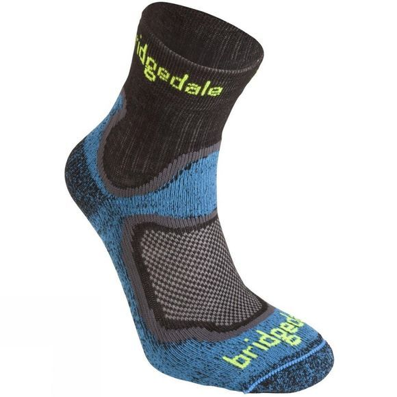 Bridgedale Mens CoolFusion Run Speed Trail Sock Blue