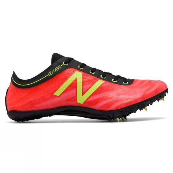 New Balance Men's SD 400v3 Spike BRIGHT CHERRY/YELLOW