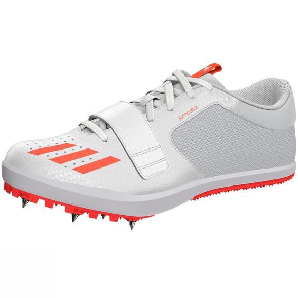 Adidas Men's Jumpstar Jumping Spikes Solar Red/FTWR White/Solar Red
