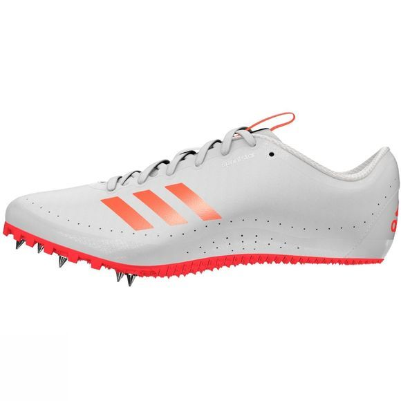 Adidas Men's Sprintstar Running Spikes Solar Red/FTWR White/Solar Red