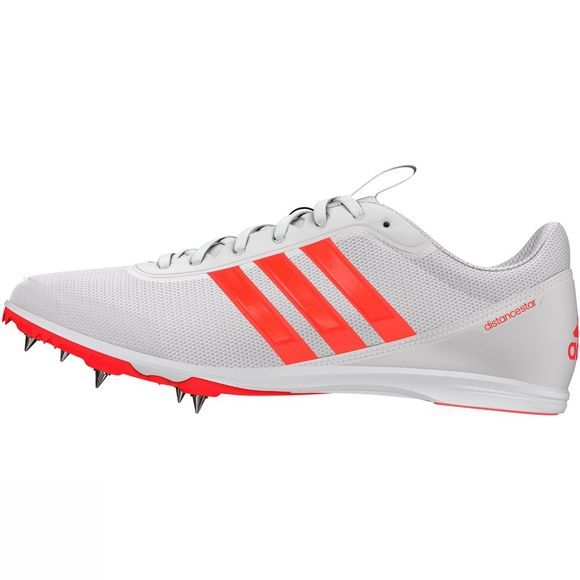 Adidas Men's Distancestar Running Spikes FTWR White/Solar Red/Solar Red
