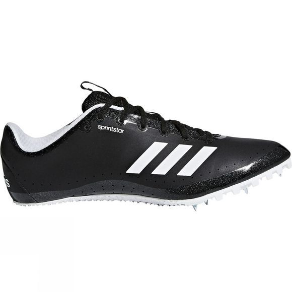Adidas Mens Sprintstar Spikes Core Black / Orange / Ftwr White