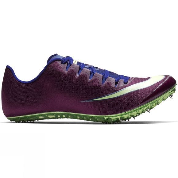 Nike Superfly Elite Racing Spike Bordeaux/Lime Blast-Regency Purple