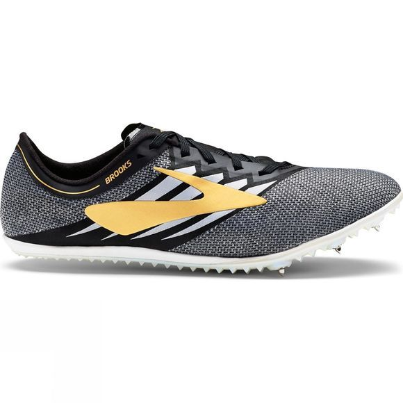 Brooks Unisex ELMN8 v4 Black/Gold/White