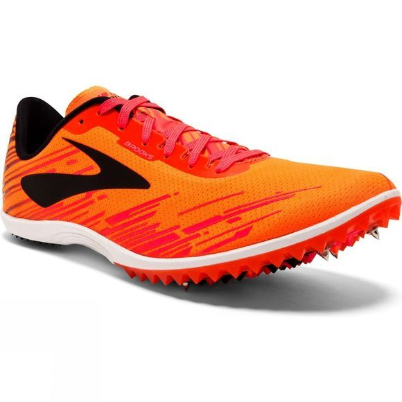 Brooks Mens Mach 18 Orange/Pink/Black