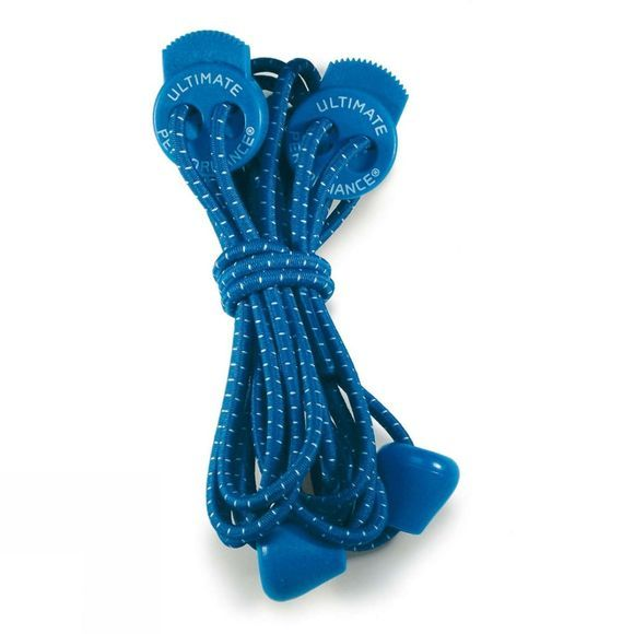 Ultimate Performance Elastic Laces Dk Blue