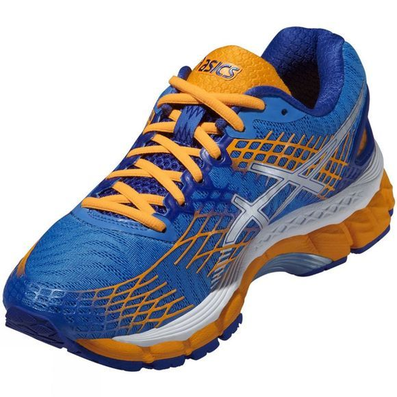 Asics Women's Gel-Nimbus 17 Dk Blue/Orange