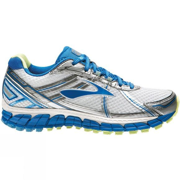 Brooks Womens Adrenaline GTS 15 White          /Dk Blue