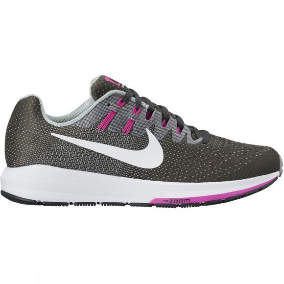 Nike Womens Air Zoom Structure 20 Grey/White