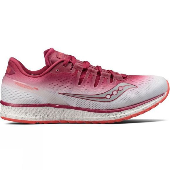Saucony Womens Freedom ISO  Berry/White