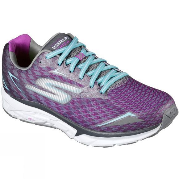 Skechers Women's GOrun Forza 2 Charcoal / Purple