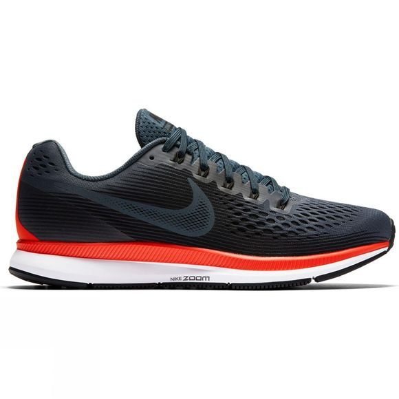Nike Womens Air Zoom Pegasus 34 Blue Fox/Black-Bright Crimson-White