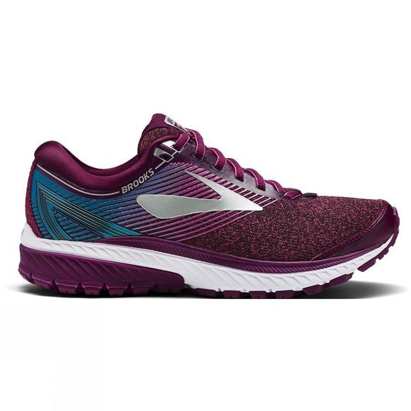 Brooks Womens Ghost 10 Purple/Pink/Teal