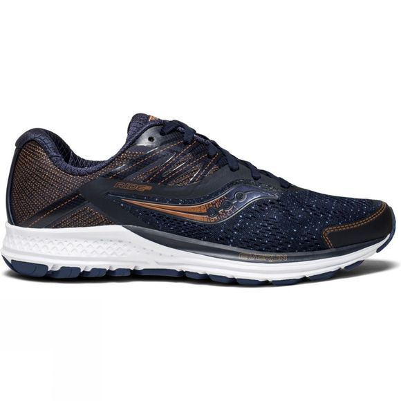 Saucony Womens Ride 10 Navy/Denim/Copper