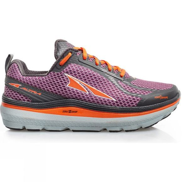 Altra Womens Paradigm 3 Shoe Purple/Orange