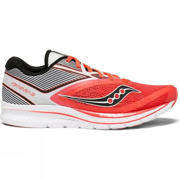 Saucony Womens Kinvara 9 Viz Red/White