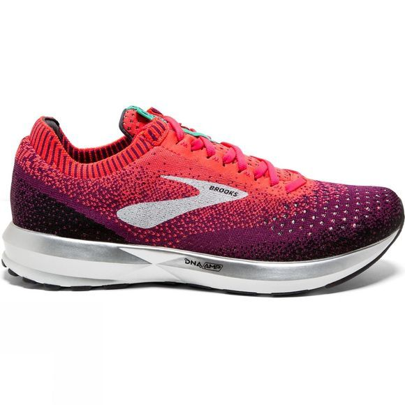 Brooks Womens Levitate 2 Pink/Black/Aqua