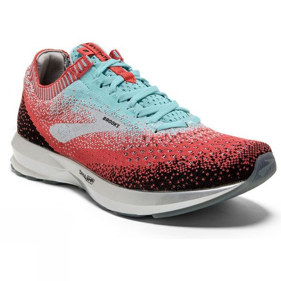 Brooks Womens Levitate 2 Coral/Blue/Black