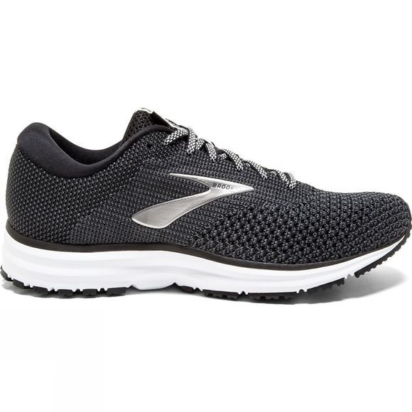 Brooks Womens Revel 2 Black/Grey/Grey