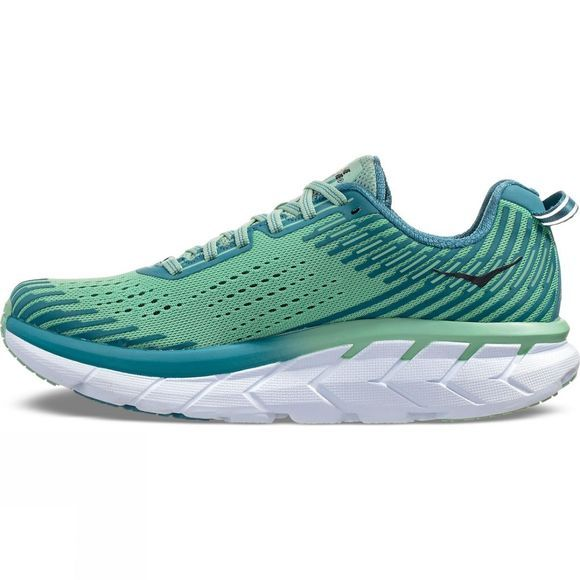 Hoka One One Womens Clifton 5 Lichen/Storm Blue