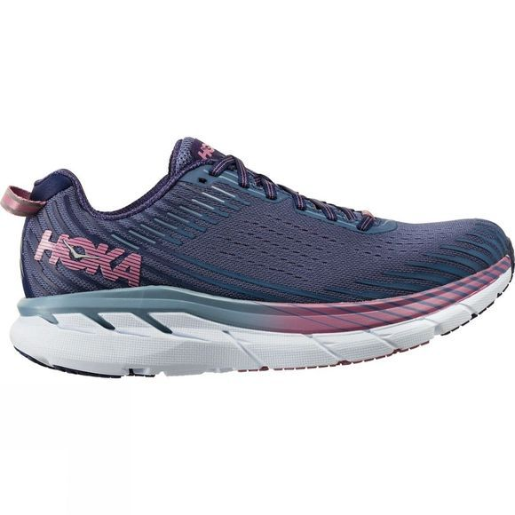 Hoka One One Womens Clifton 5 Marlin/Blue Ribbon