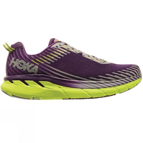 Hoka One One Womens Clifton 5 Grape Royale / Lavender Aura