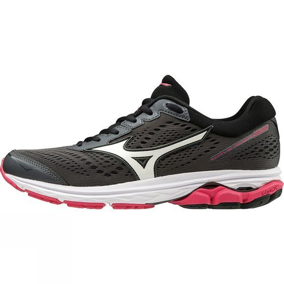 Mizuno Womens Rider 22 Dark Shadow/White/Azalea