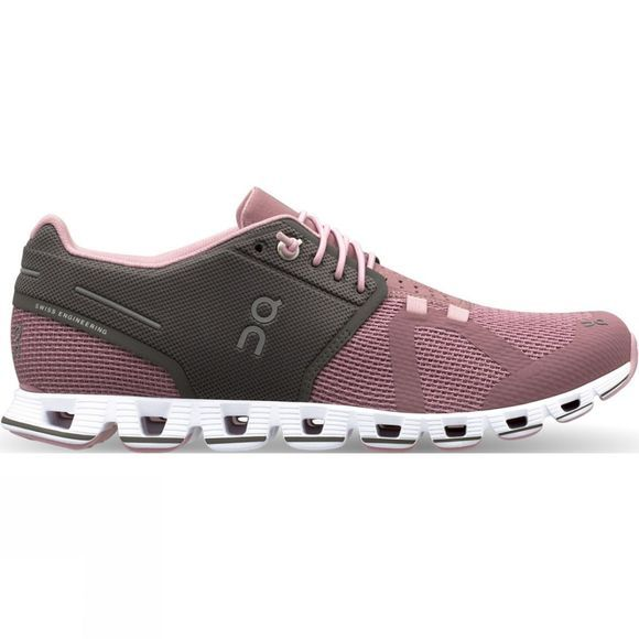 On Womens Cloud Charcoal / Rose