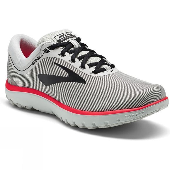 Brooks Womens PureFlow 7 Grey/Black/Pink