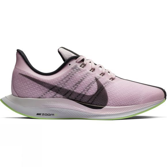 Nike Womens Zoom Pegasus 35 Turbo PINK FOAM /BLACK-LIME BLAST-VAST GREY