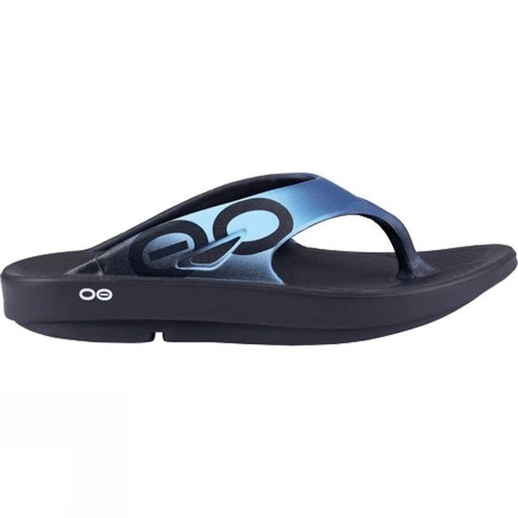 OOFOS Womens OOriginal Sport Black/Azul