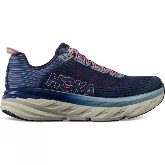 Hoka One One Womens Bondi 6 (Wide) Marlin / Blue Ribbon