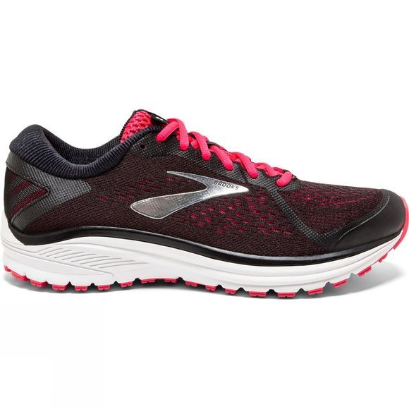 Brooks Womens Aduro 6 Black/Pink/Silver