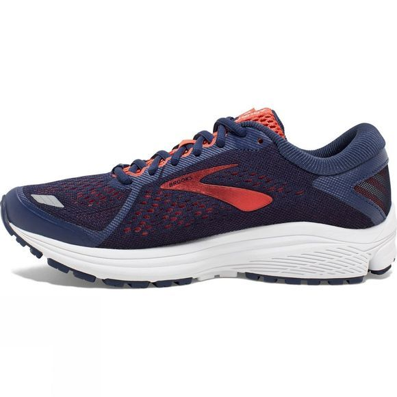 Brooks Womens Aduro 6 Blue/Coral/White