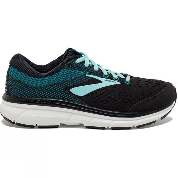 Brooks Womens Dyad 10 Black/Island/Capri