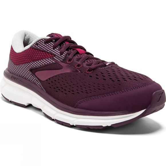 Brooks Womens Dyad 10 Purple/Pink/Grey