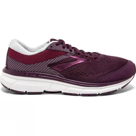 Brooks Womens Dyad 10 Extra Wide  Purple/Pink/Grey