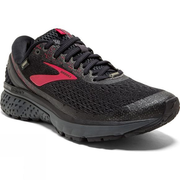 Brooks Womens Ghost 11 GTX  Black/Pink/Ebony