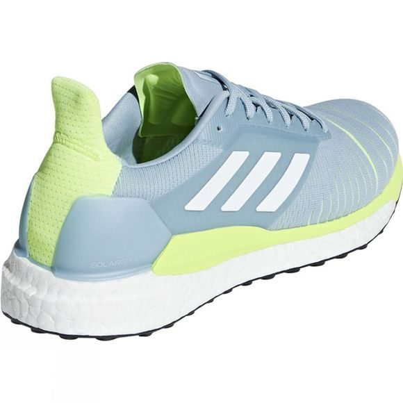 Adidas Womens Solar Glide ASH GREY S18/ftwr white/hi-res yellow