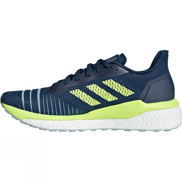 Adidas Womens Solar Drive  legend marine/hi-res yellow/ASH GREY S18