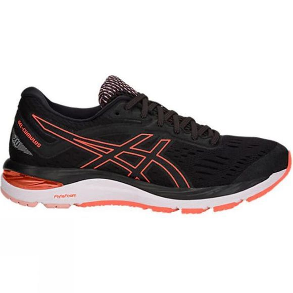 Asics Women's Gel Cumulus 20 Black/Flash Coral