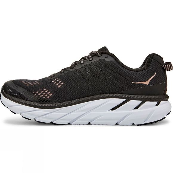 Hoka One One Women's Clifton 6 BLACK/ROSE GOLD