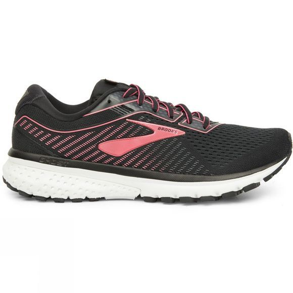 Brooks Women's Ghost 12 Black/Pink/White