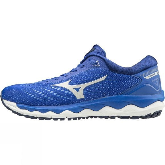 Mizuno Women's Wave Sky 3 Dazzling Blue / Nimbus Cloud / Ultramarine