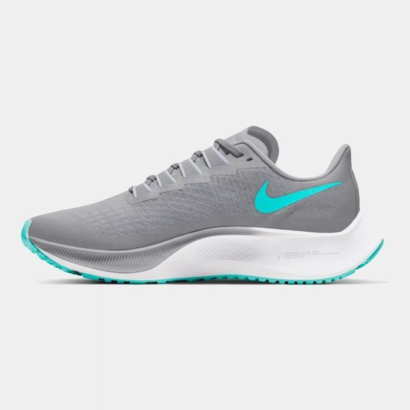 Nike Women's Air Zoom Pegasus 37 Wolf Grey/Aurora Green-football Grey