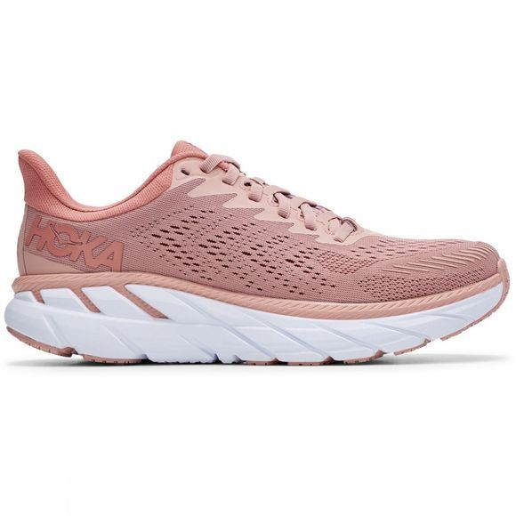 Hoka One One Women's Clifton 7 MISTY ROSE / CAMEO BROWN