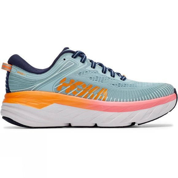 Hoka One One Women's Bondi 7 BLUE HAZE / BLACK IRIS